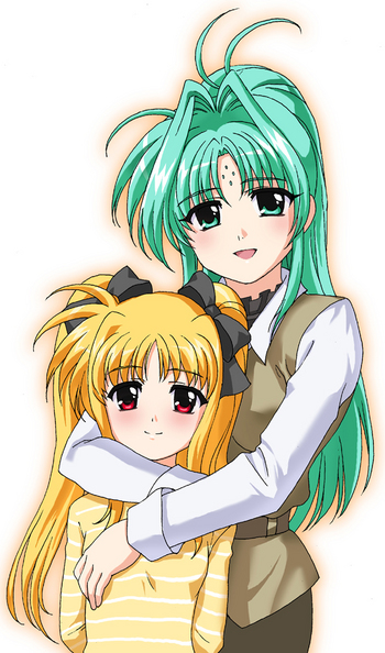 nanoha_welcome_my_family